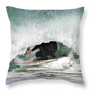 Locked In Curl Throw Pillow