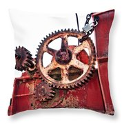 Locked In History Throw Pillow