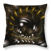 Locked In Nature's Embrace Throw Pillow