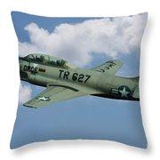 Lockheed F-80  Throw Pillow