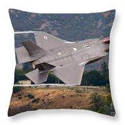 Lockheed Martin F-35 Lightning II, 2015 Throw Pillow