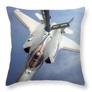 Lockheed Martin F-35 Lightning II, 2016 Throw Pillow