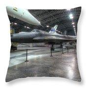 Lockheed Yf-12a Throw Pillow
