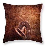 Locksmith - Locked  Throw Pillow