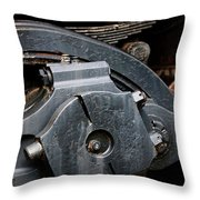 Locomotion Throw Pillow