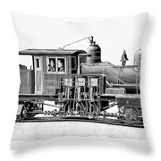 Locomotive, 1893 Throw Pillow