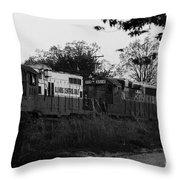 Locomotive 8241 Throw Pillow
