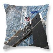 Loews Atlanta Throw Pillow