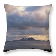 Lofoten Sunset 4 Throw Pillow