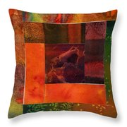 Log Cabin 4006 Throw Pillow
