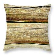 Log Files Throw Pillow