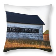 Logerquist Bros. Throw Pillow