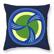 logo for TRAG Throw Pillow