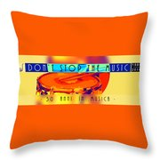 Logo Rullante Hd Throw Pillow