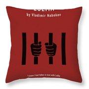 Lolita By Vladimir Nabokov Greatest Books Ever Series 019 Throw Pillow