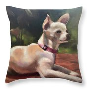 Lolita Martinez Throw Pillow