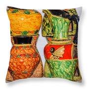 Lombok Pottery Throw Pillow