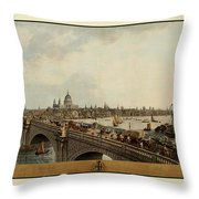 London 1802 Throw Pillow