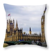 London 4 Throw Pillow