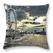 London A View From A Bridge  Throw Pillow