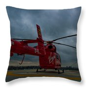 London Air Ambulance Throw Pillow