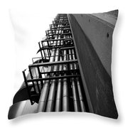 London Architecture Throw Pillow
