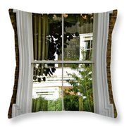London At Four Throw Pillow