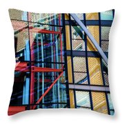 London Bankside Architecture 1 Throw Pillow