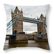 London Bridge 1 Throw Pillow