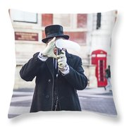 London Bubbles 3 Throw Pillow