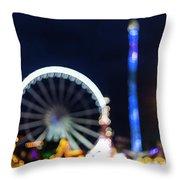 London Christmas Markets 12 Throw Pillow