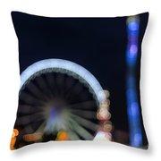London Christmas Markets 13 Throw Pillow