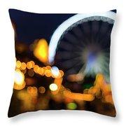 London Christmas Markets 14 Throw Pillow