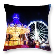 London Christmas Markets 17 Throw Pillow