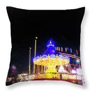 London Christmas Markets 22 Throw Pillow