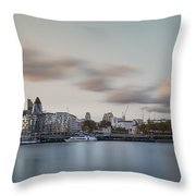 London City Throw Pillow by Ivelin Donchev