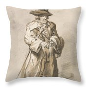 London Cries - All Fire And No Smoke Throw Pillow