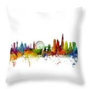 London England Skyline 16x20 Ratio Throw Pillow