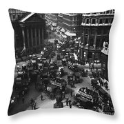 London: Financial District Throw Pillow