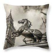 London Guardians Throw Pillow