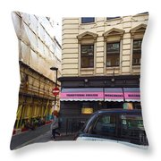London In Summer Throw Pillow