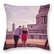 London Love, Love London Throw Pillow