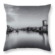 London Panorama Throw Pillow