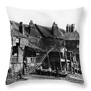 London: Riverside, C1860 Throw Pillow