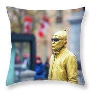 London Street Artists 2 Throw Pillow