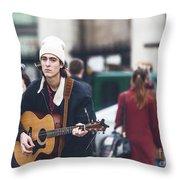 London Street Artists 3 Throw Pillow