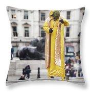 London Street Artists 4 Throw Pillow