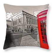 London Telephone 2 C Throw Pillow