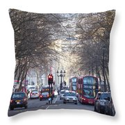 London Thoroughfare Throw Pillow