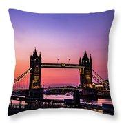 Tower Bridge, London. Throw Pillow